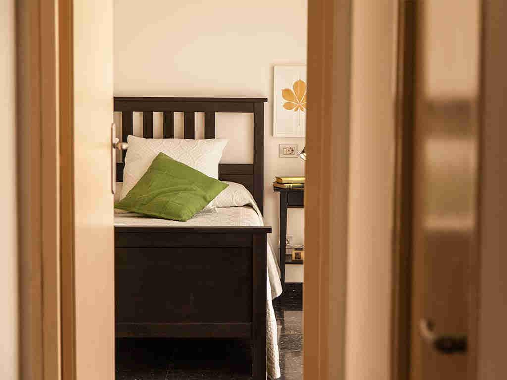 Villa vacacional en Sitges: entrada de la habitación 1