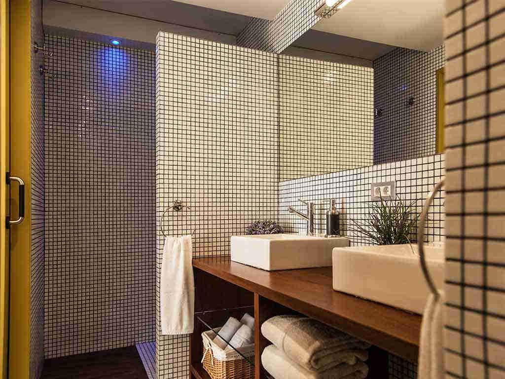 Villa vacacional en Sitges: cuarto de baño 1