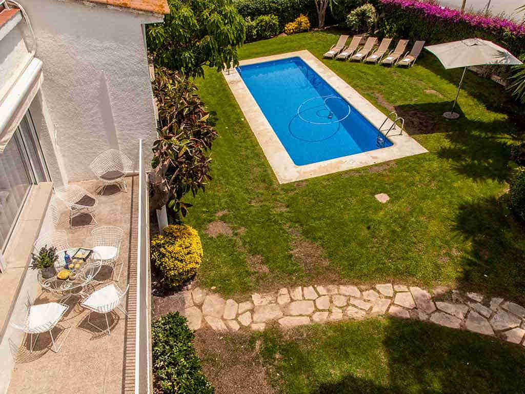 Sitges luxury villas from the top