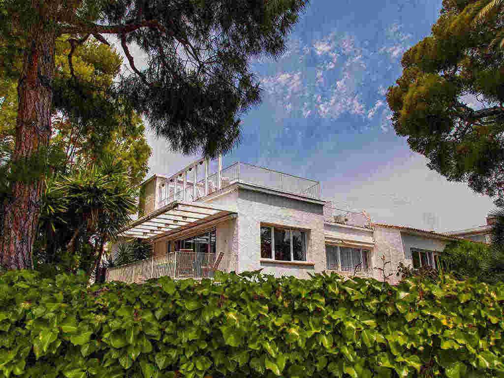 Villa vacacional en Sitges: fachada