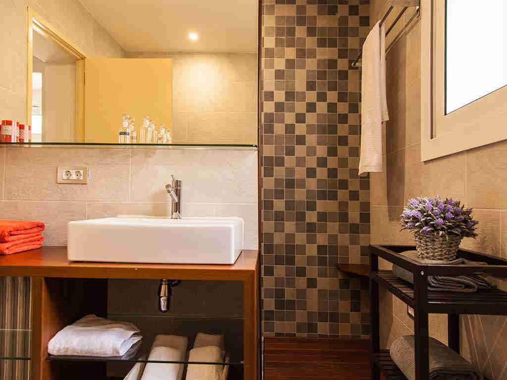 Villa vacacional en Sitges: baño 1