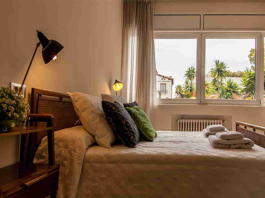Sitges luxury villas badroom 2 with green views