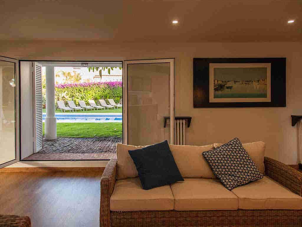 Villa vacacional en Sitges: chill-out