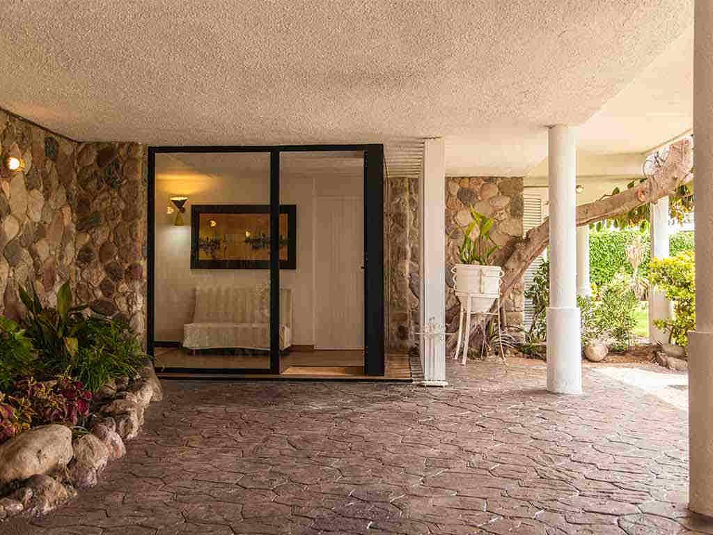 Villa vacacional en Sitges: entrada