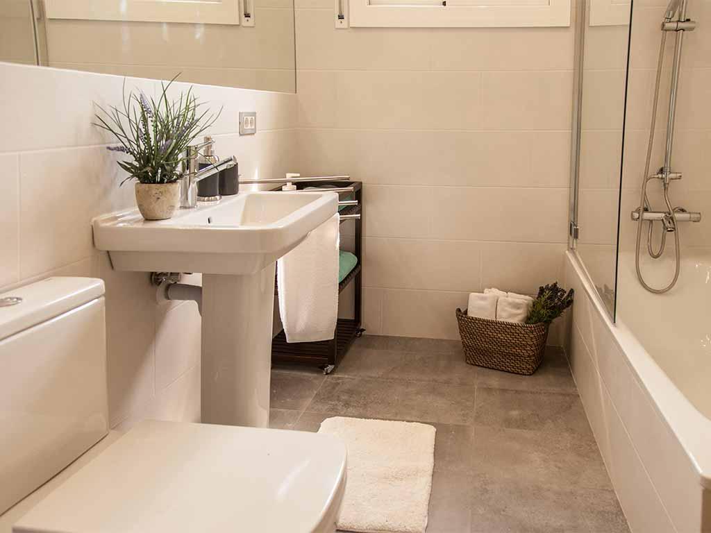Villa vacacional en Sitges: cuarto de baño 2