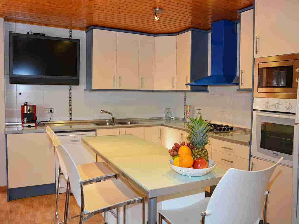 Cocina de la Casa de vacaciones en Sitges