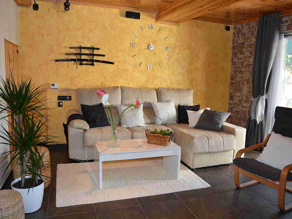 Casa de vacaciones en Sitges con salón