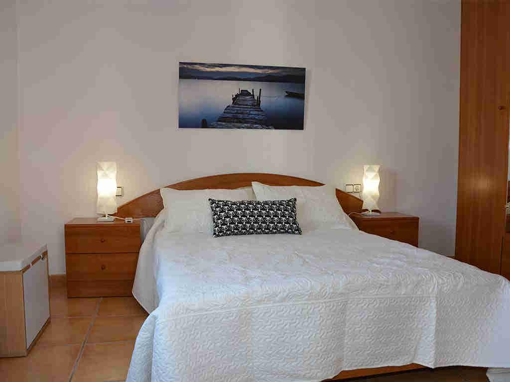 Segundo dormitorio de la Casa de vacaciones en Sitges