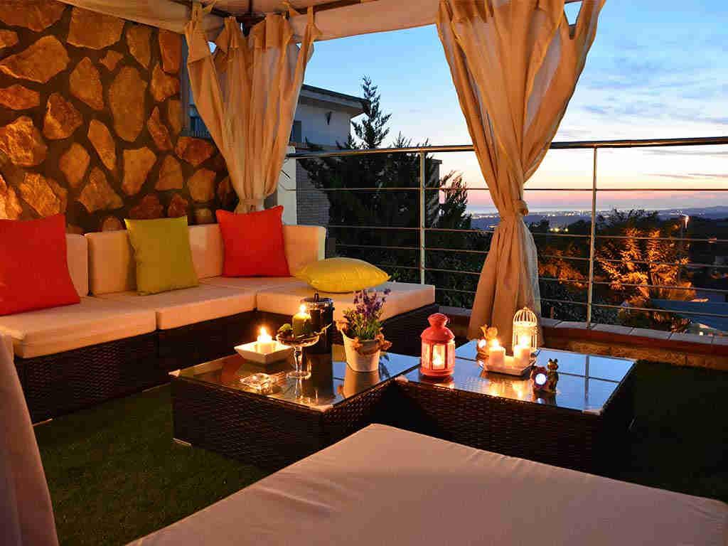 Casa de vacaciones en Sitges con chill-out