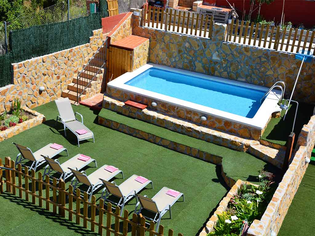 Sitges villa with 2 pools. Beautiful garden and terrace.