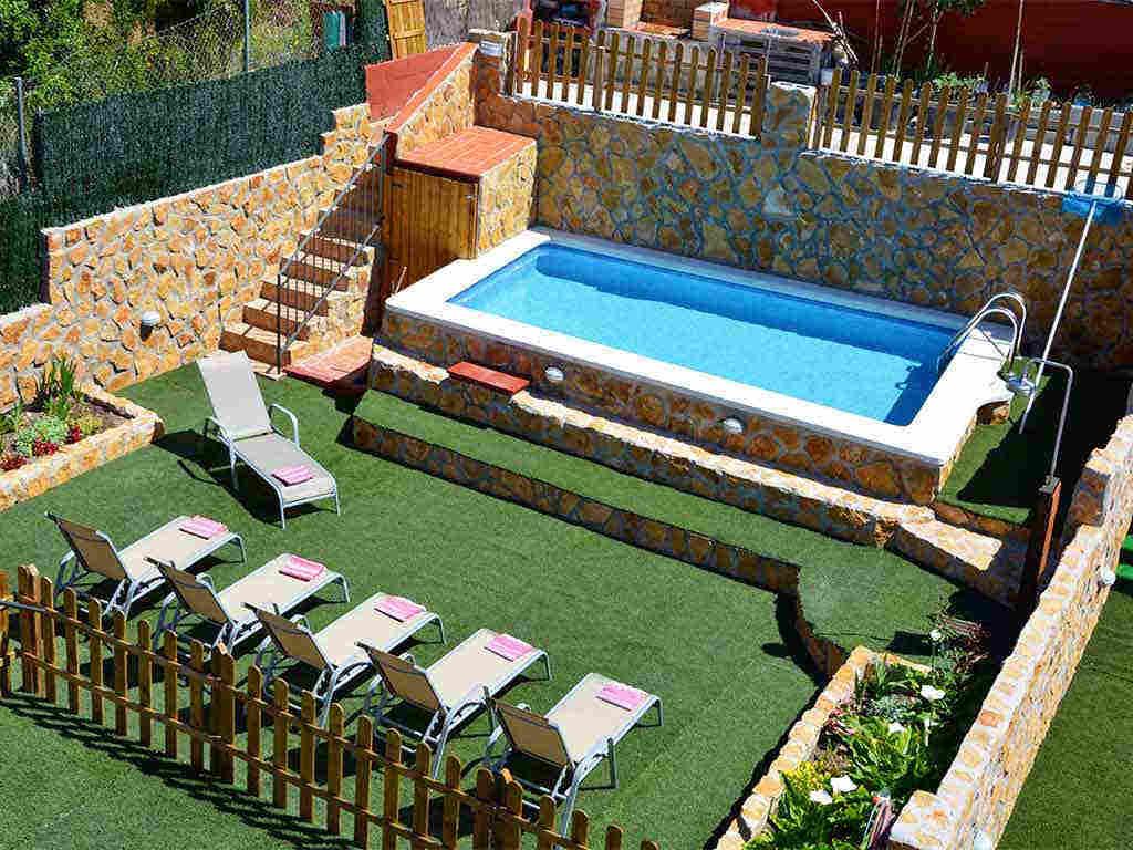 Casa de vacaciones en Sitges y sus exteriores