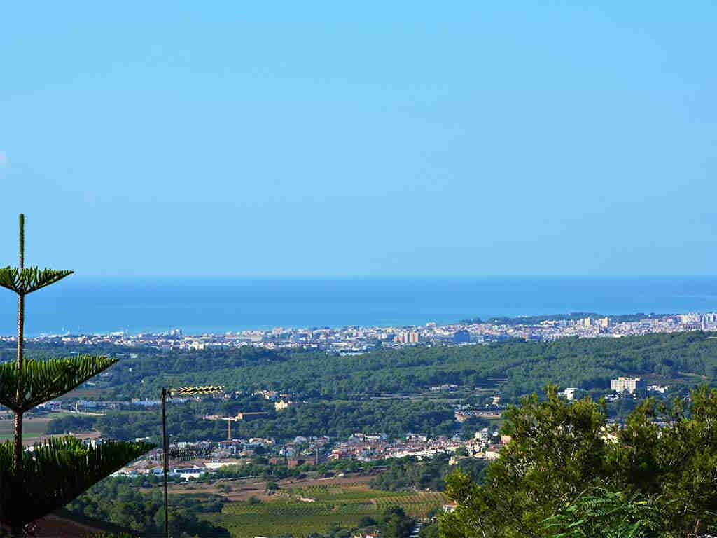 Vistas de la Casa de vacaciones en Sitges