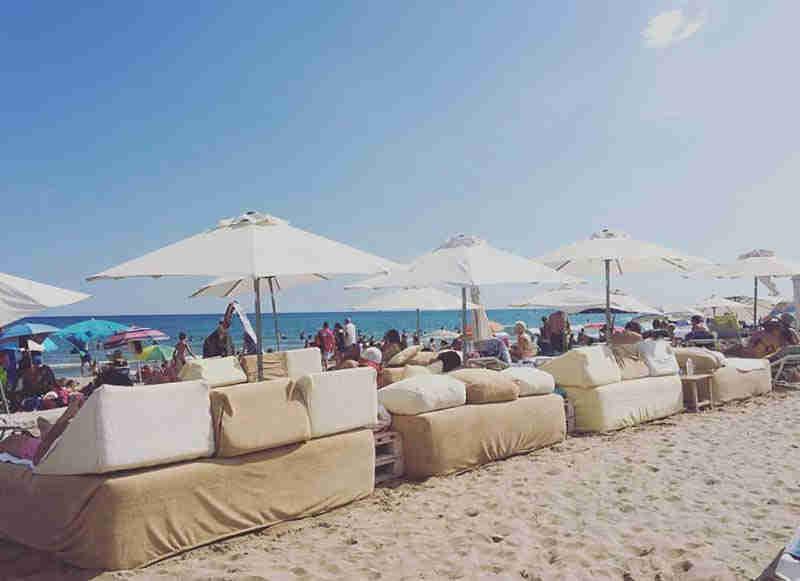 Playa de Sitges el Estanyol