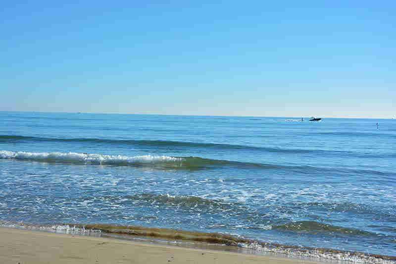 Belle plage à Sitges