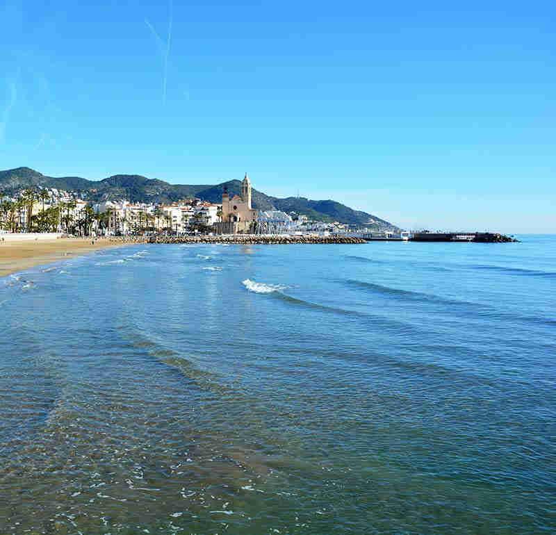 Playa Fragata de Sitges