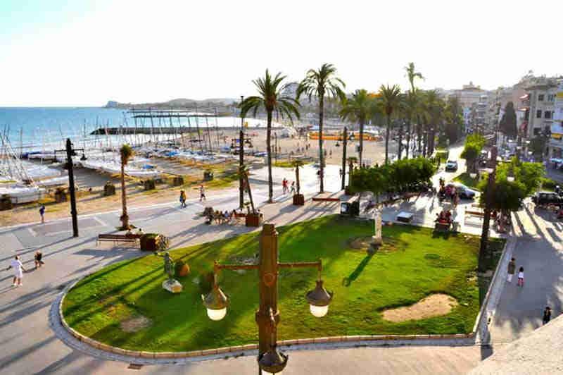 Playa de Sitges la Fragata