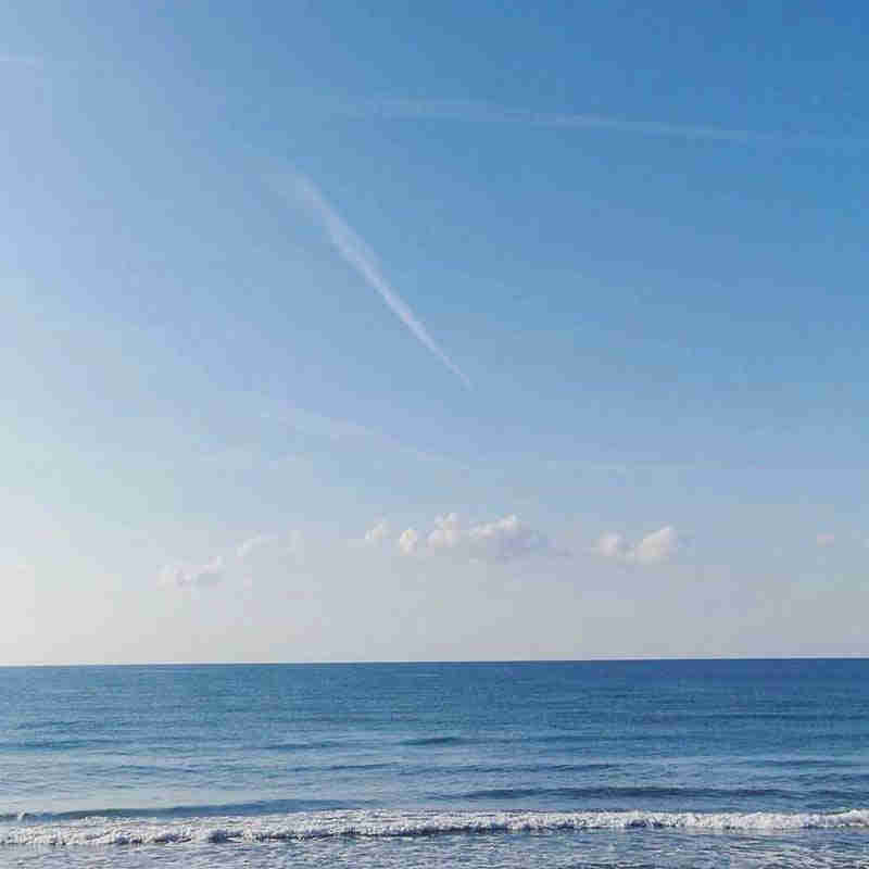 Sitges beach for kids