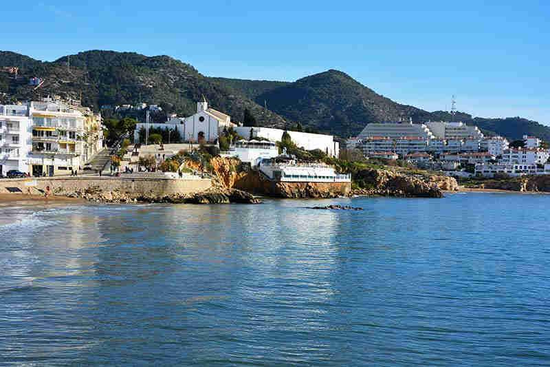 Sitges beach San Sebastian