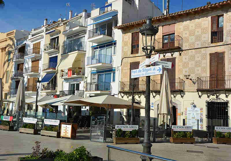 San Sebastian Sitges Beach Restaurants