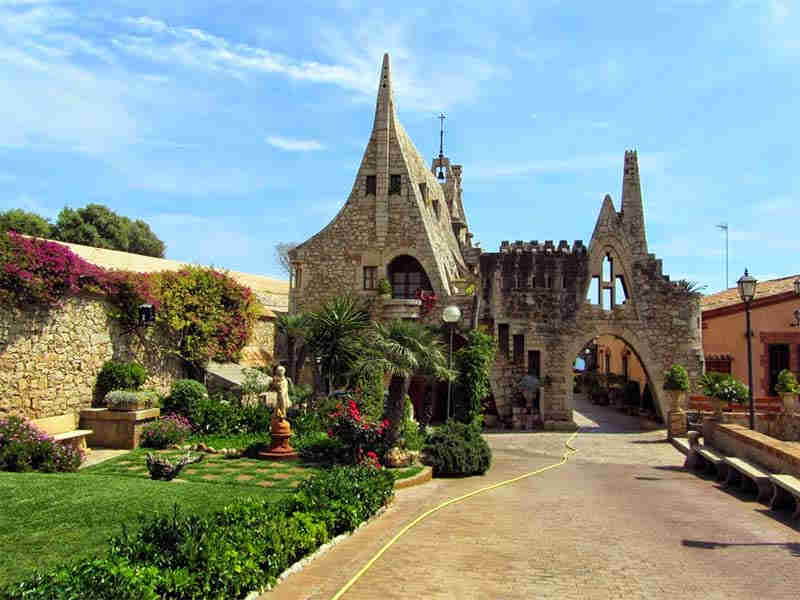 Güell wineries in Sitges