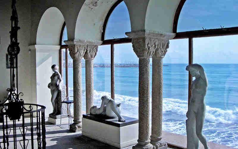 Casco antiguo de Sitges: Cau Ferrat