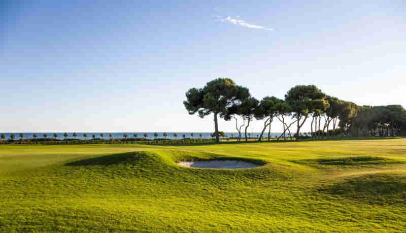Golf de Sitges con vistas espectaculares