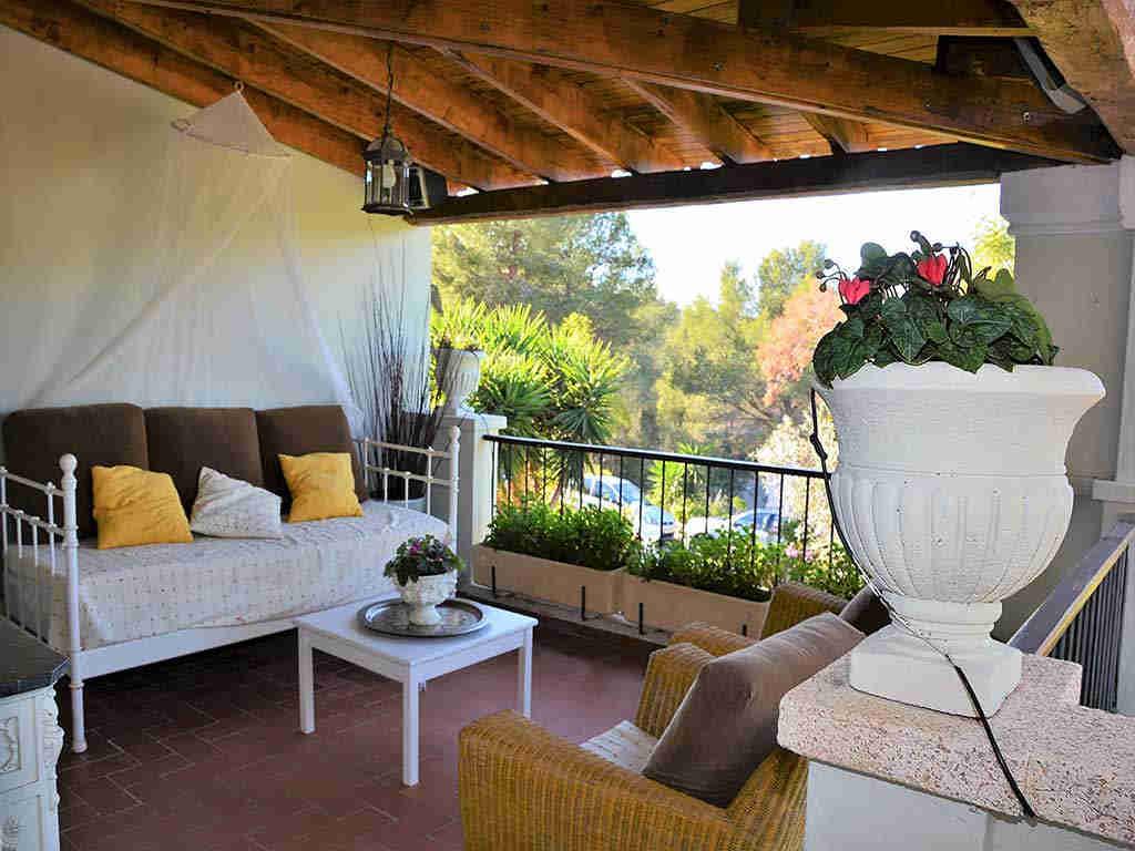 Villa de vacances à Sitges: terrasse chill out