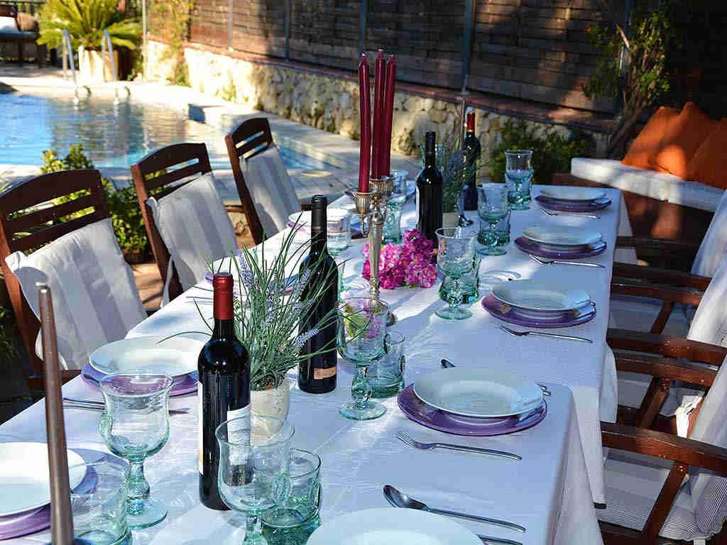 Villa de vacances à Sitges: décoration