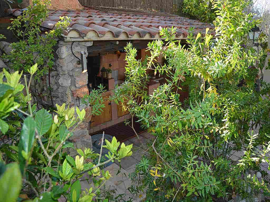 Villa de vacances à Sitges: barbecue