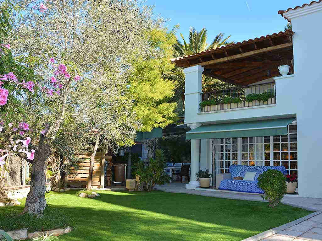 Villa de vacances à Sitges: jardin