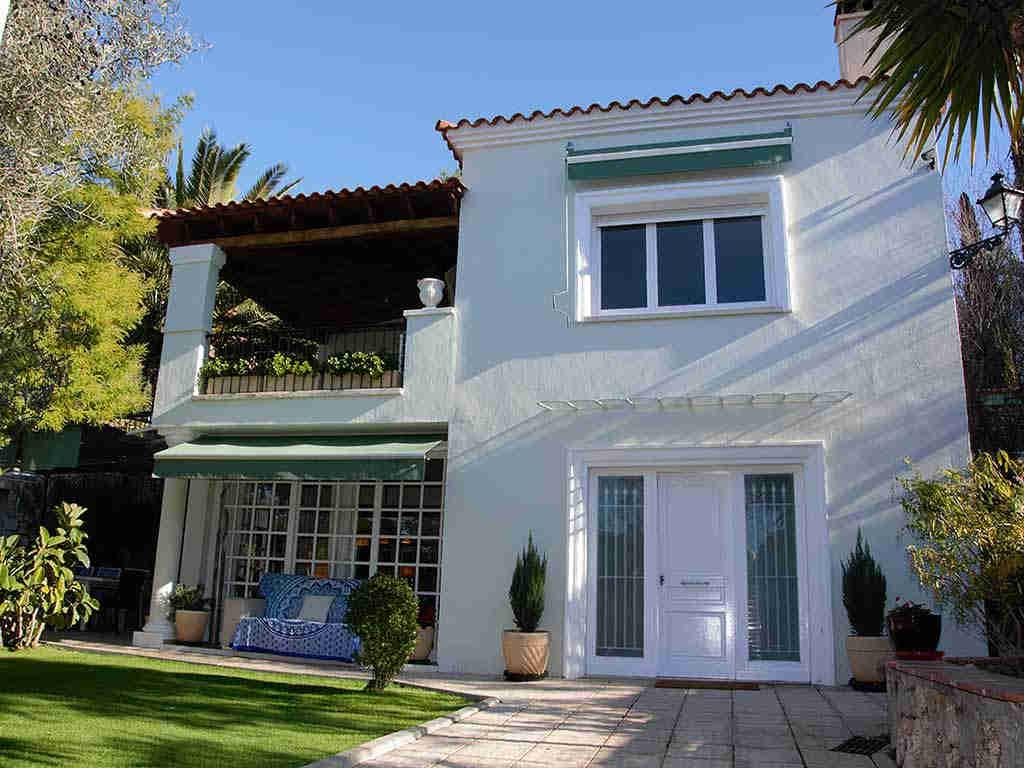 Villa de vacances à Sitges: façade