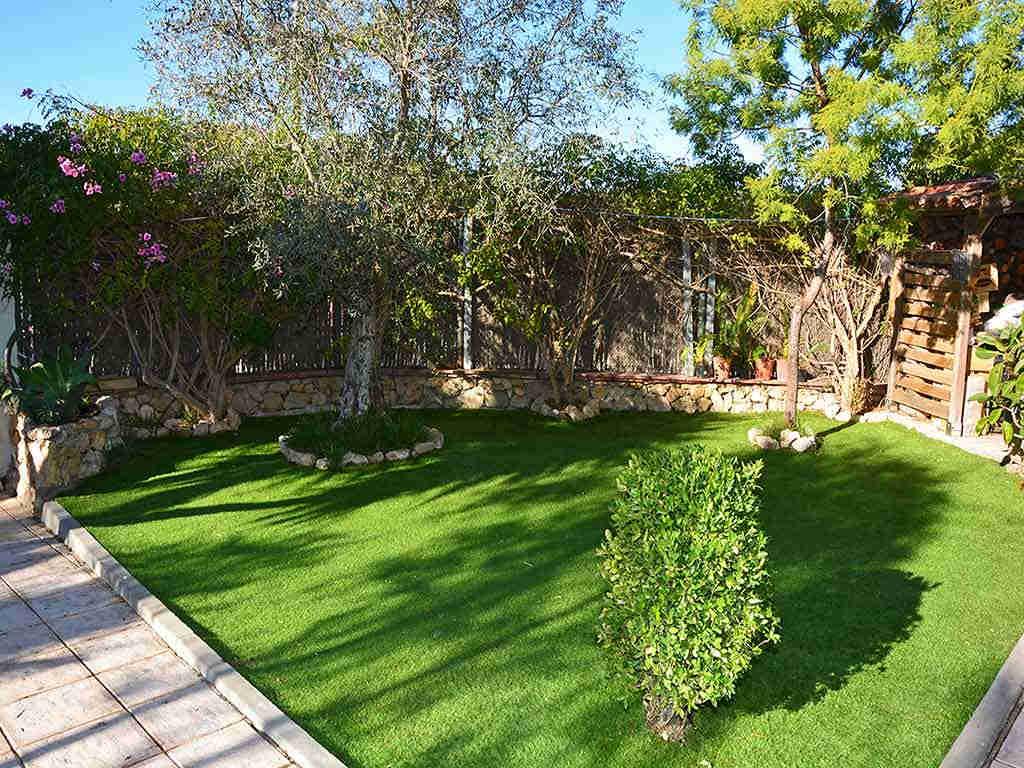 Villa de vacances à Sitges: petit jardin