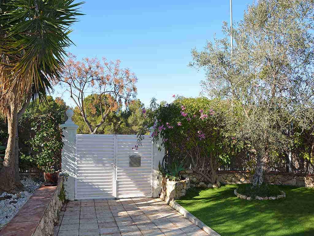 Villa de vacances à Sitges: porte d'entrée