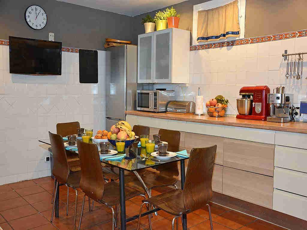 Villa de vacances à Sitges: cuisine