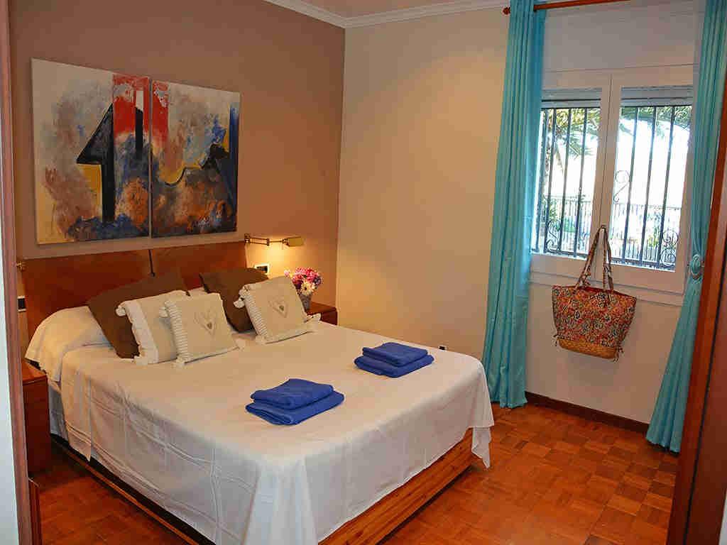 Villa de vacances à Sitges: chambre pour deux personnes