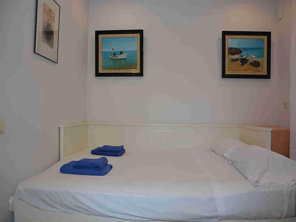 Villa de vacances à Sitges: chambre double