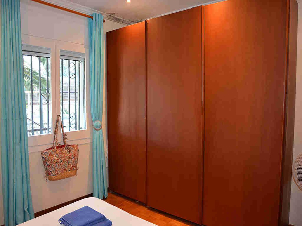 Villa de vacances à Sitges: placards pour deux personnes