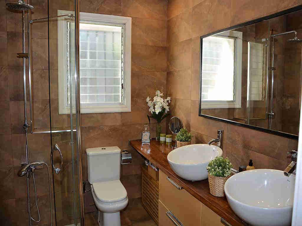 Villa de vacances à Sitges: salle de bain
