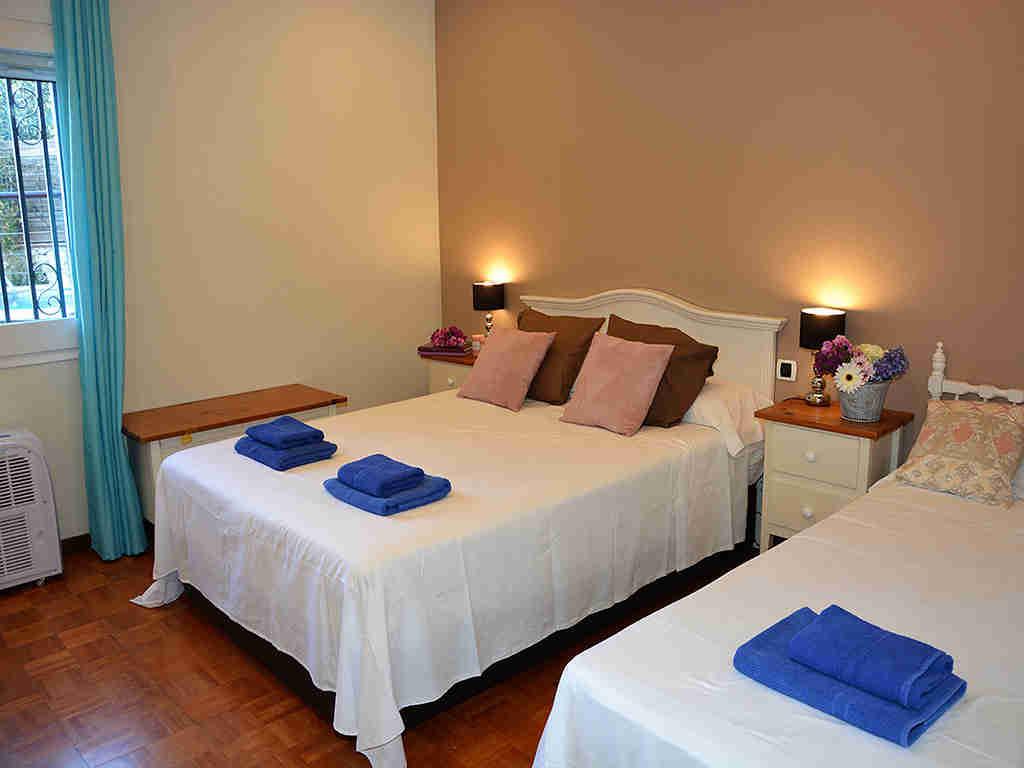 Villa de vacances à Sitges: chambre triple