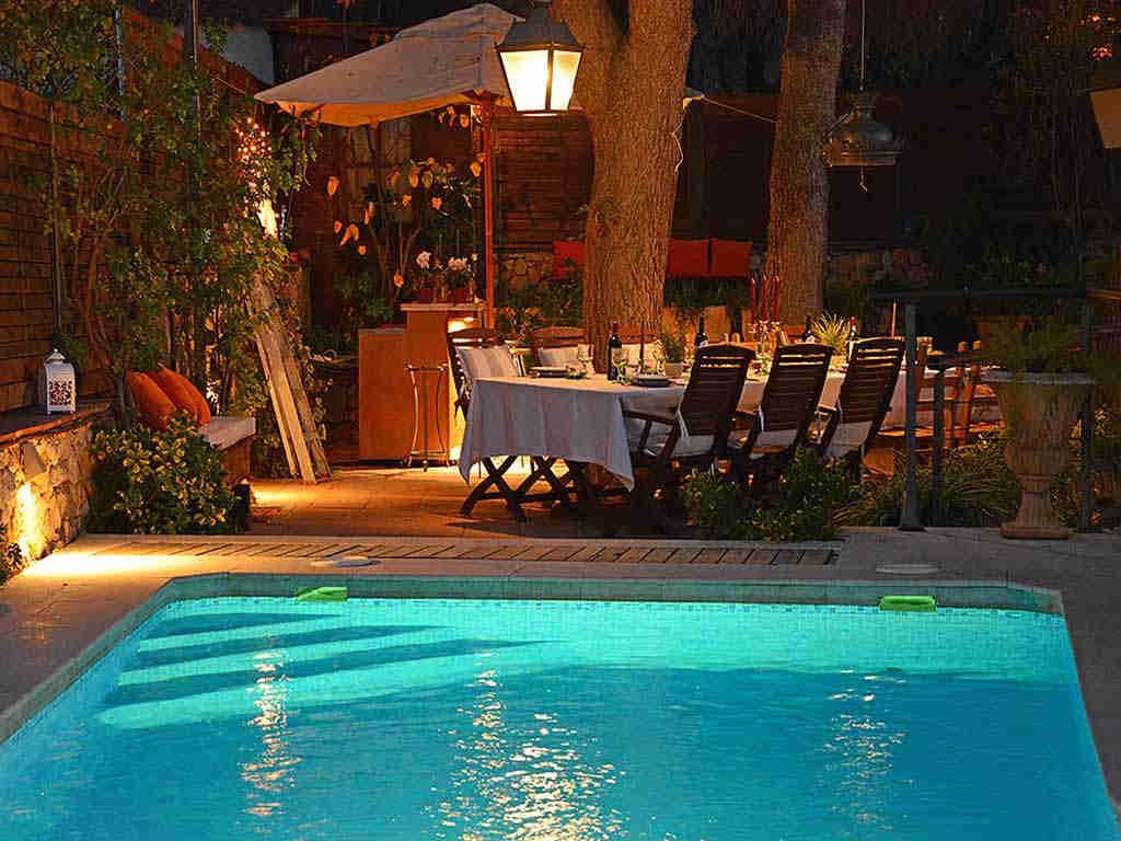 Villa de vacances à Sitges: belle terrasse
