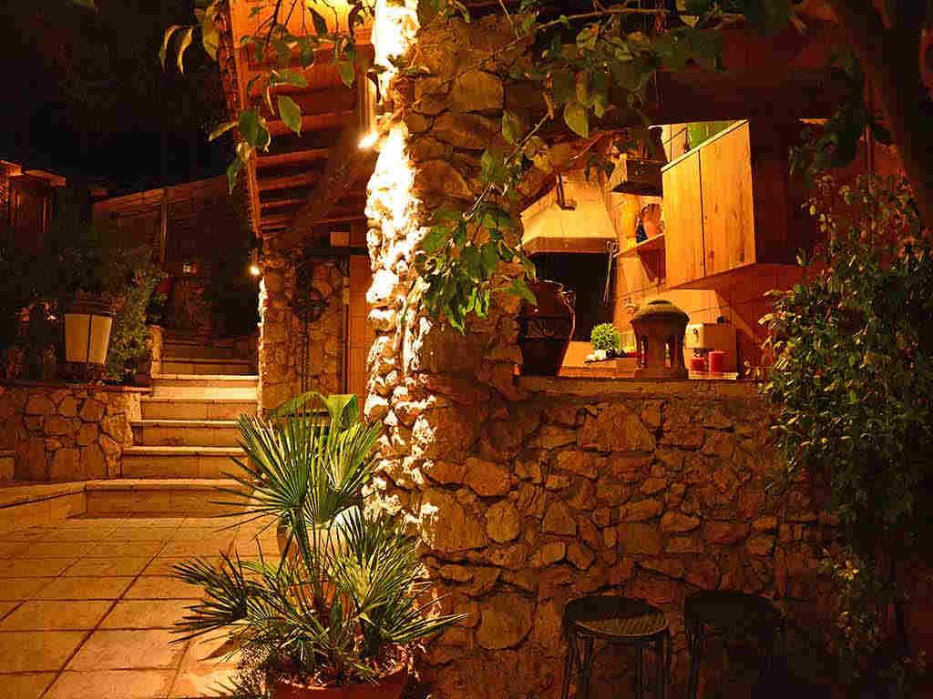 Villa de vacances à Sitges: cuisine extérieure