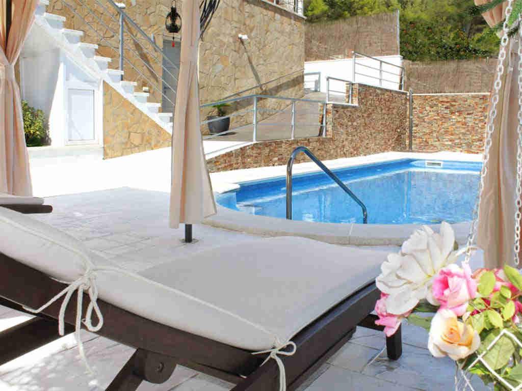 casa de vacaciones cerca de Sitges: piscina
