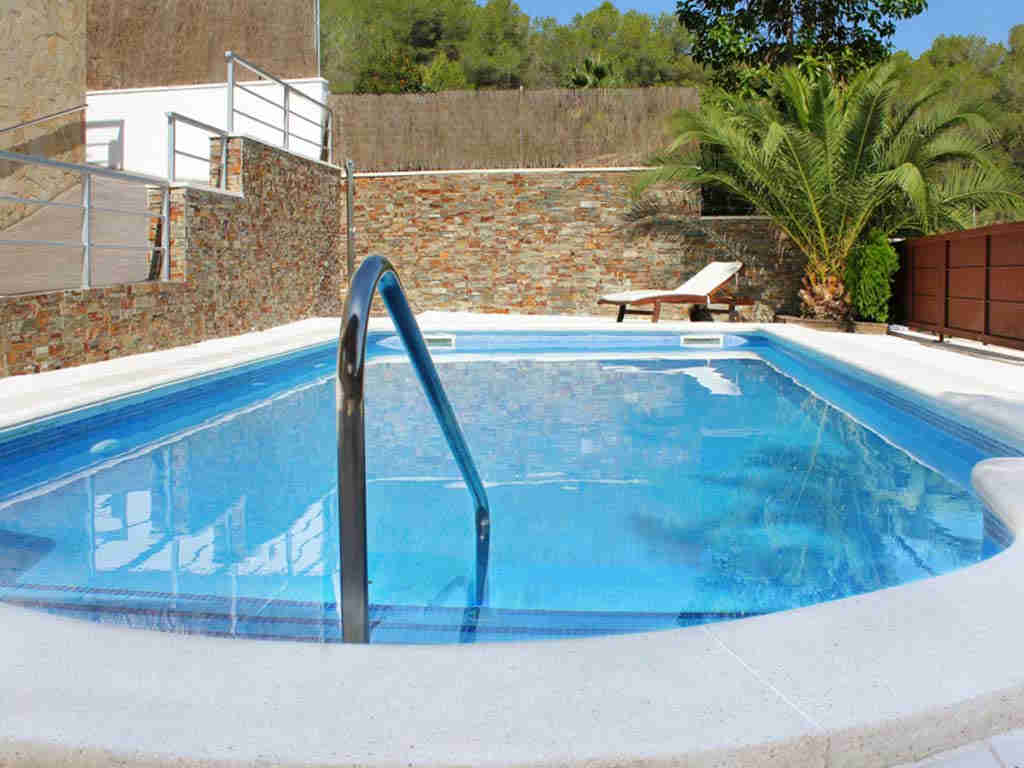 casa de vacaciones cerca de Sitges: solarium