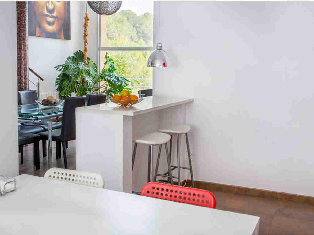 casa de vacaciones cerca de Sitges: cocina