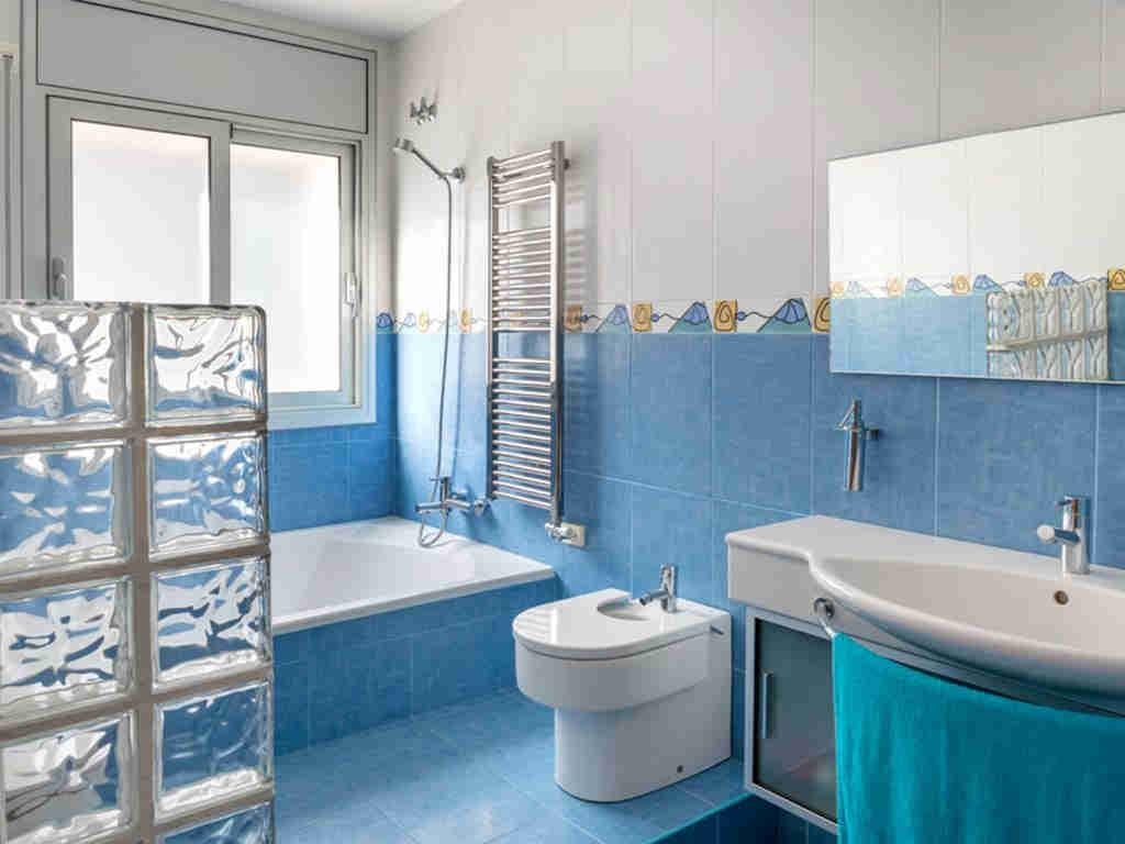 casa de vacaciones cerca de Sitges: baño