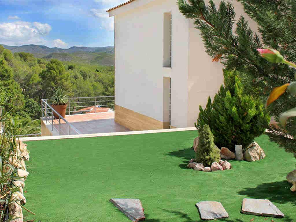 casa de vacaciones cerca de Sitges: terraza