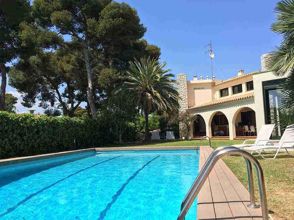 Villa de vacances à Sitges proche de Barcelone: zone extérieure