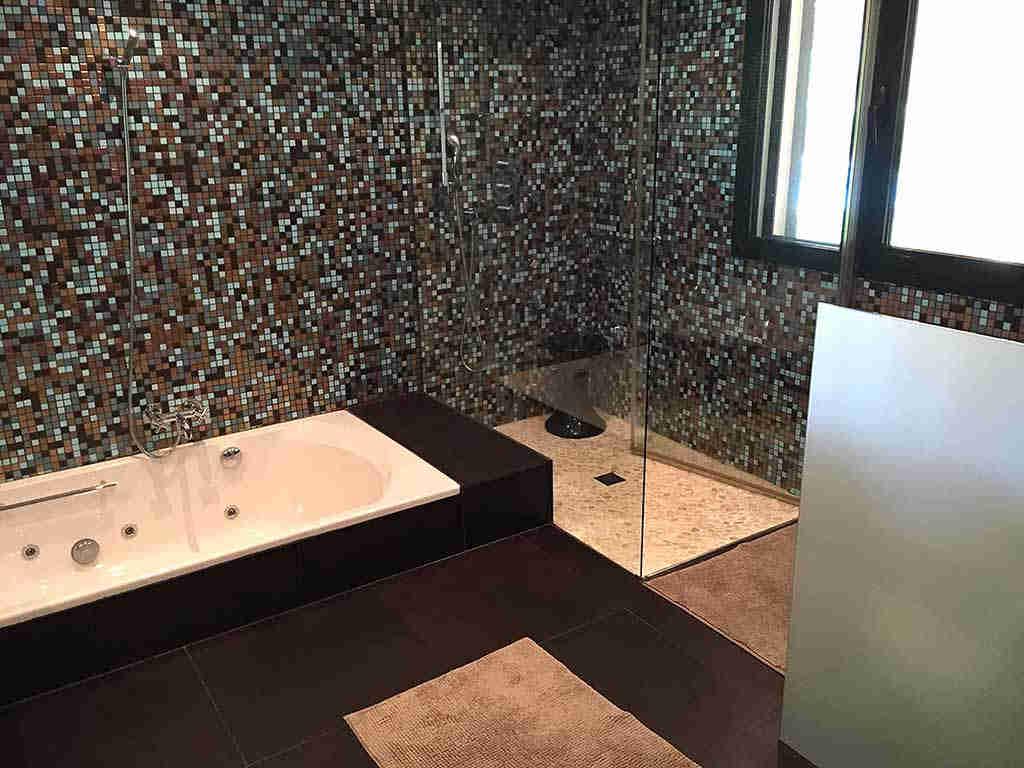 Villa de vacances à Sitges proche de Barcelone: douche