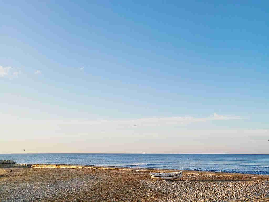 Sitges holiday villa near Barcelona: sitges beach