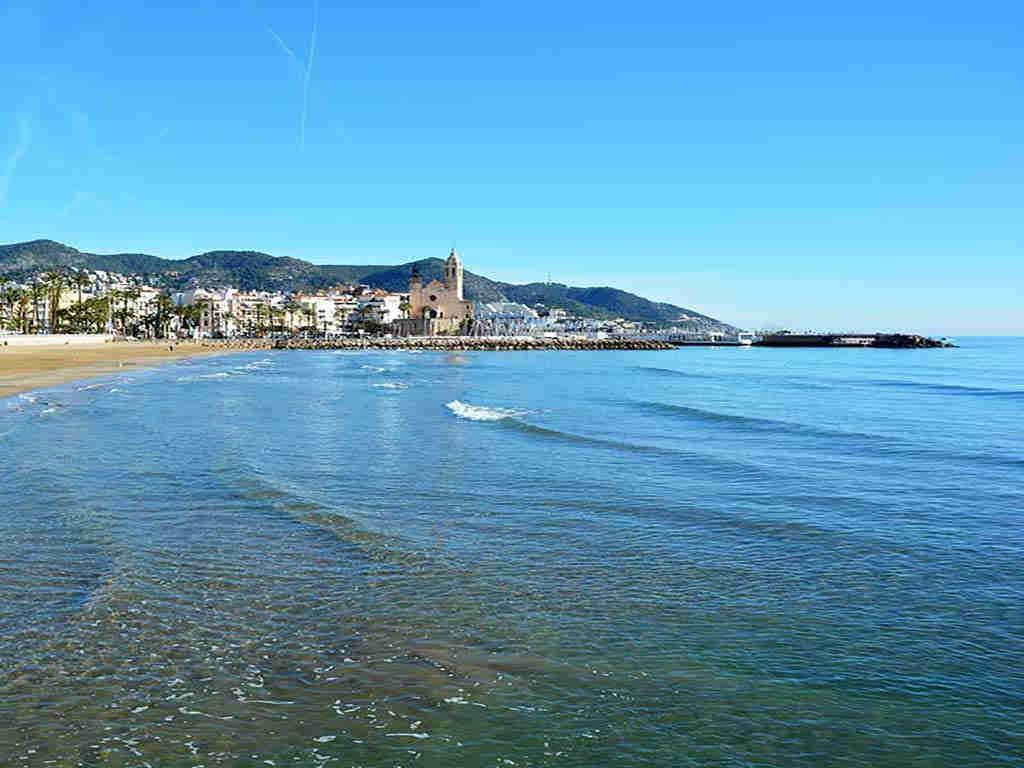 Villa de vacances à Sitges proche de Barcelone: belles eaux